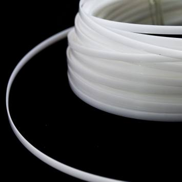 Baleine plastique rigide 9.5 mm blanche