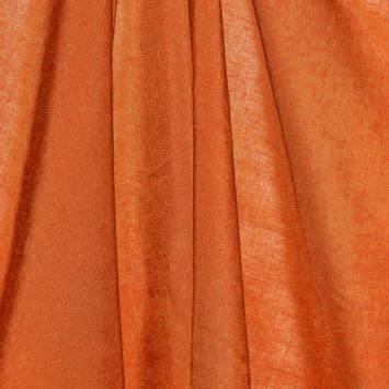 Viscose unie orange