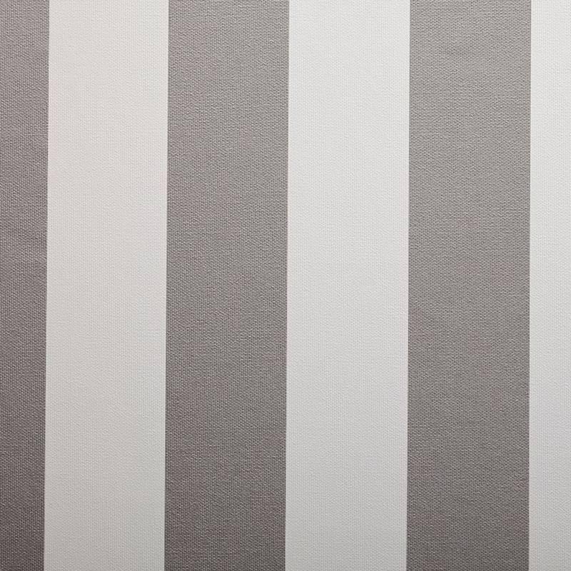 Simili cuir nautique rayé gris