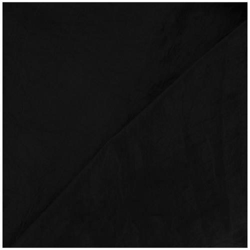Taffetas noir doublé en maille contrecollée