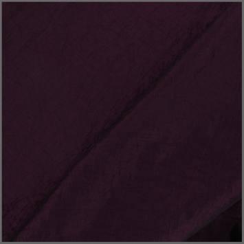 Taffetas violet foncé doublé en maille contrecollée