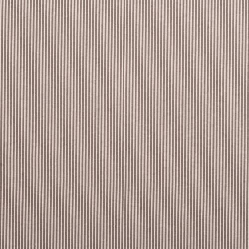 Coton gris fines rayures blanches 3mm