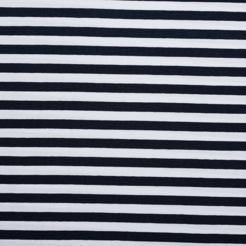 jersey ray bleu marine et blanc. Black Bedroom Furniture Sets. Home Design Ideas