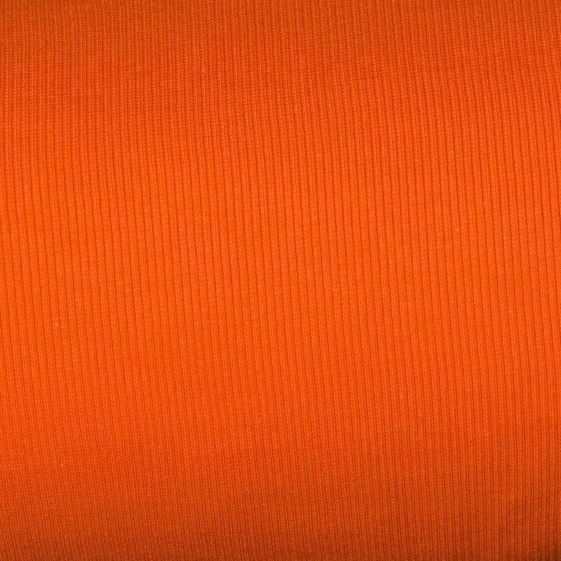 tissu tubulaire bord c te maille orange tissus price. Black Bedroom Furniture Sets. Home Design Ideas