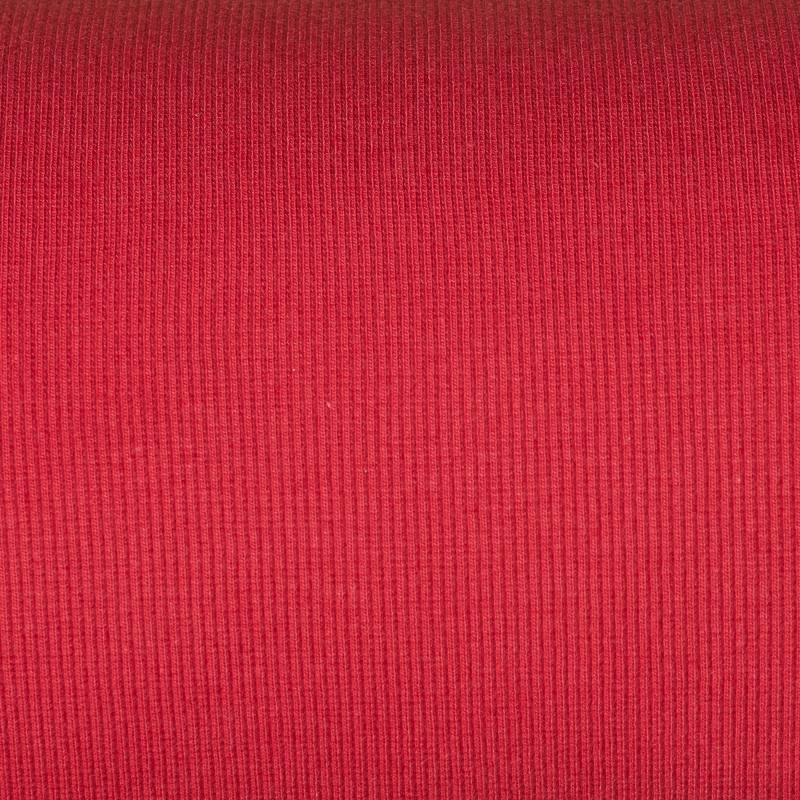 tissu tubulaire bord c te maille rouge tissus price. Black Bedroom Furniture Sets. Home Design Ideas