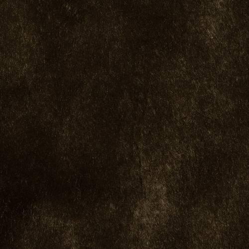 Fausse fourrure unie marron foncé