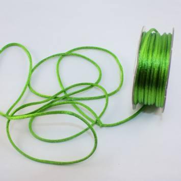 Cordelette en bobine vert 2 mm