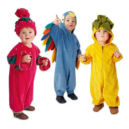 Patron Burda 2369 Carnaval : Déguisement pour bébé Taille 62-92 cm