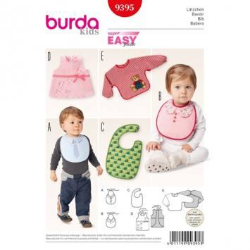Patron Burda 9395 : Bavoir
