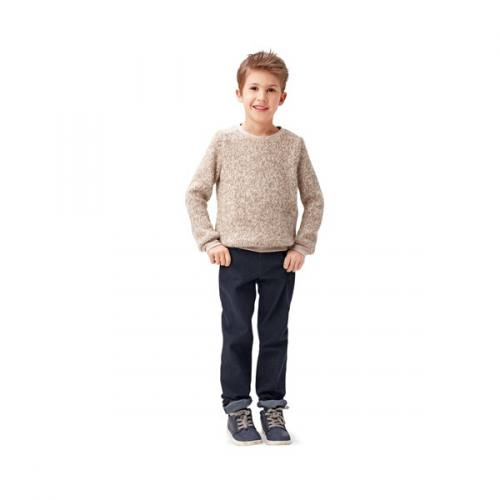 Patron Burda 9406: Sweat enfant Taille 104-140 cm