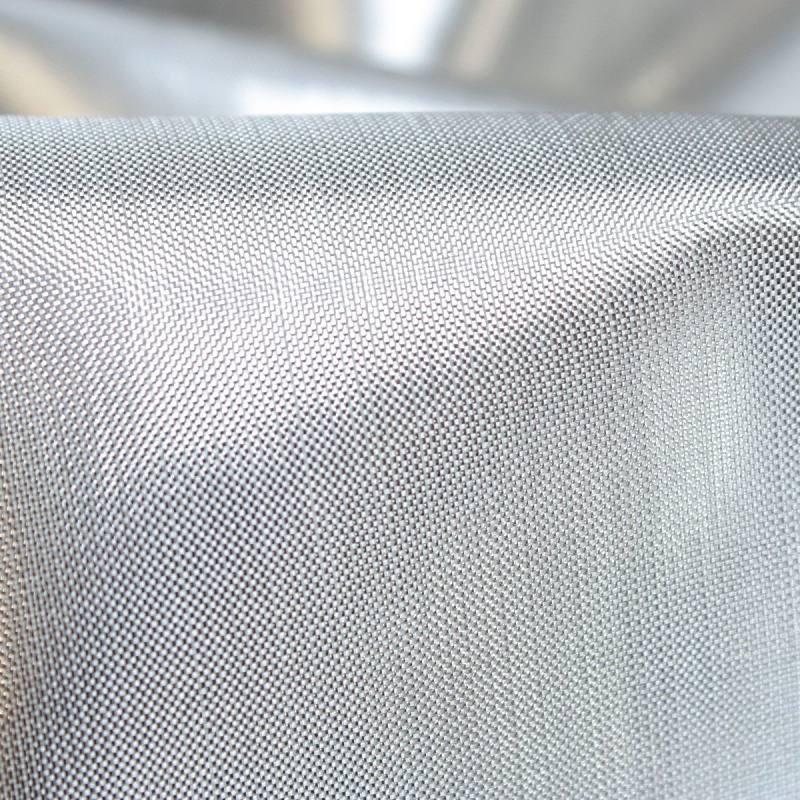 Tissus lamé argenté