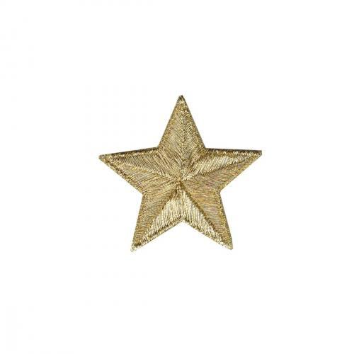 """Ecusson """"Grande étoile dorée"""