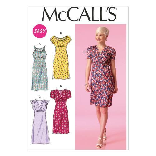 Patron Mc Call's M7116: Robe Taille: 36-44