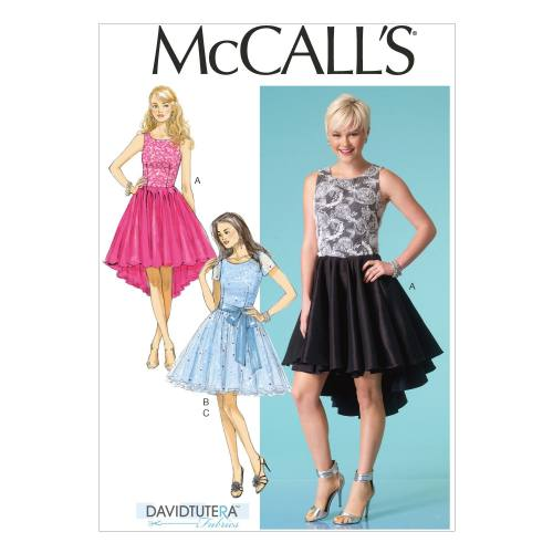 Patron Mc Call's M7123: Robe Taille: 32-40