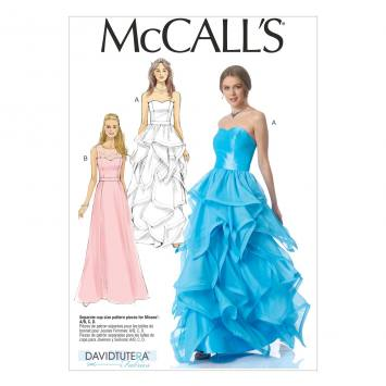 Patron Mc Call's M7124 : Robe Taille : 34-42