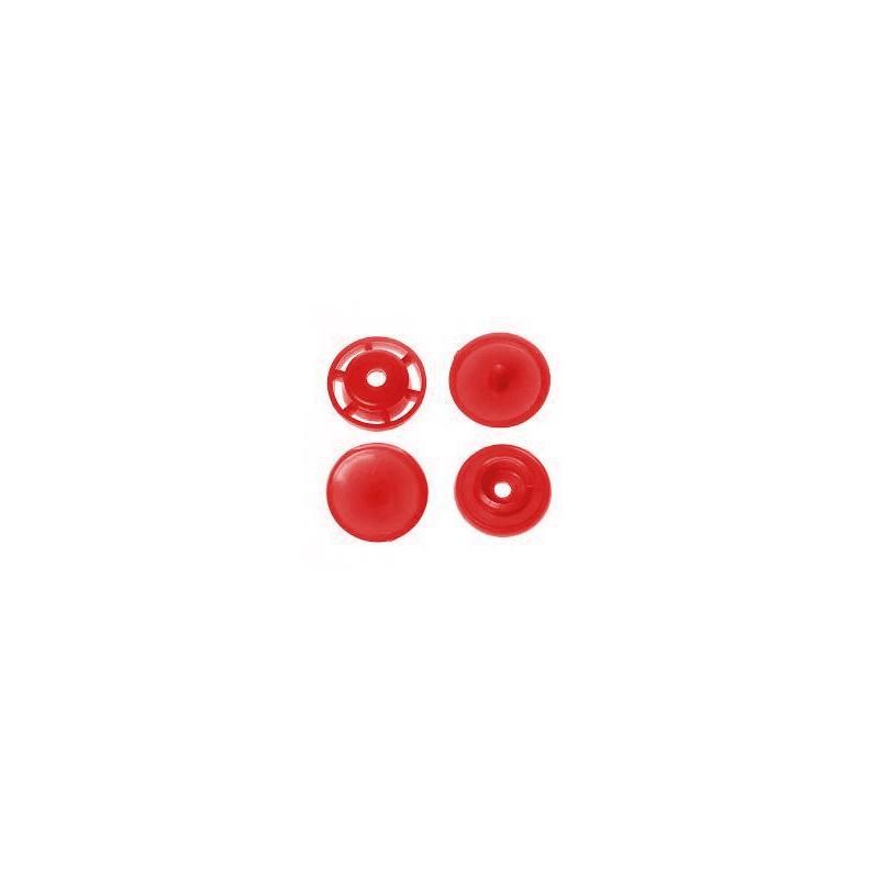 Boite de boutons-pression ronds en résine Color snaps blanc
