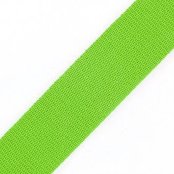 Sangle vert anis 25 mm