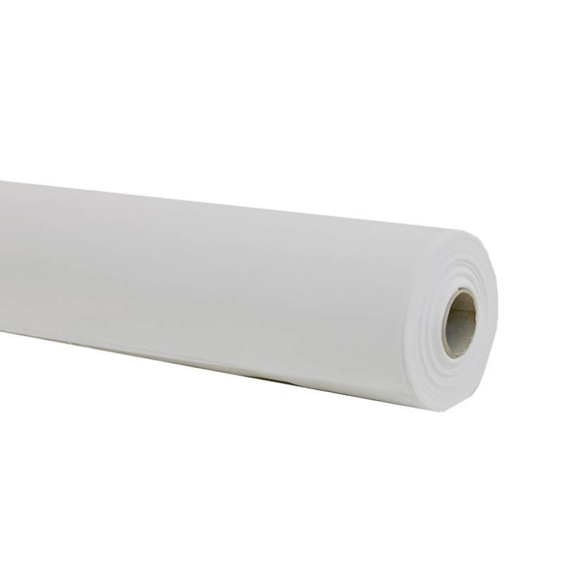 Rouleau 30m toile ignifug e m1 permanent blanc tissus price Rouleau toile de piscine
