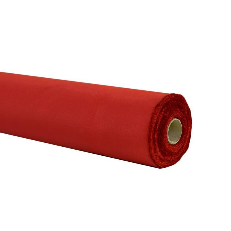 Rouleau - Toile ignifugée M1 permanent rouge (30 mètres)