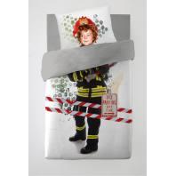 Parure de lit enfant pompier