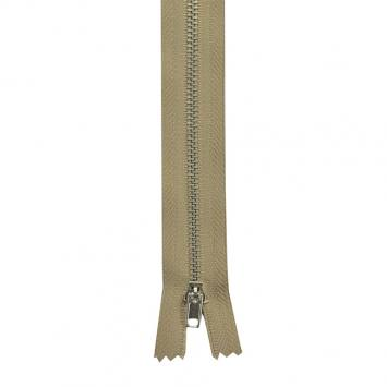 Fermeture pantalon 18 cm métal non séparable Col 156