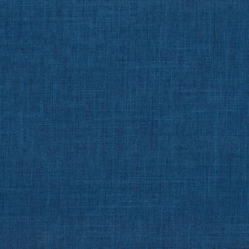 Burlington infroissable chiné bleu