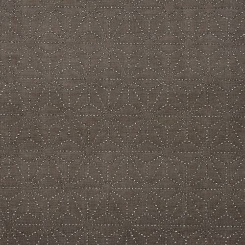 Simili cuir acier motif asanoha strass