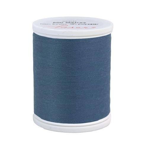 Fil à coudre polyester bleu jeans 2128