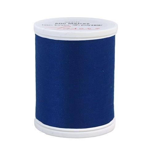 Fil à coudre polyester 500m bleu roi 2258