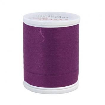 Fil à coudre polyester prune 2322