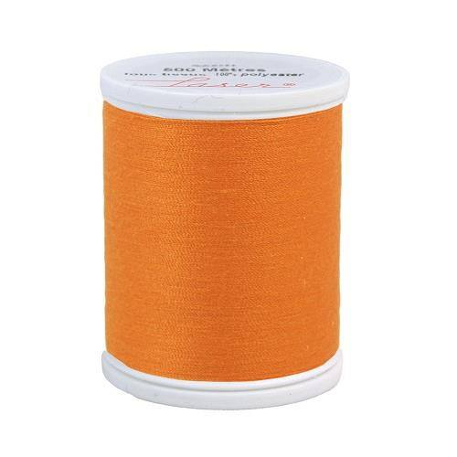 Fil à coudre polyester orange 2608