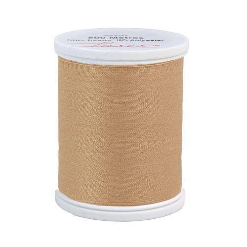 Fil à coudre polyester beige foncé 2808