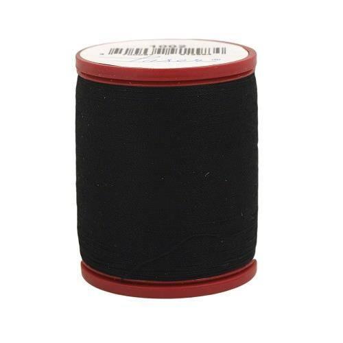 Fil à coudre coton 400m noir 1002