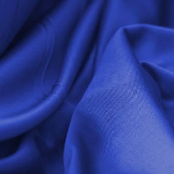 Maille extensible unie bleu roi