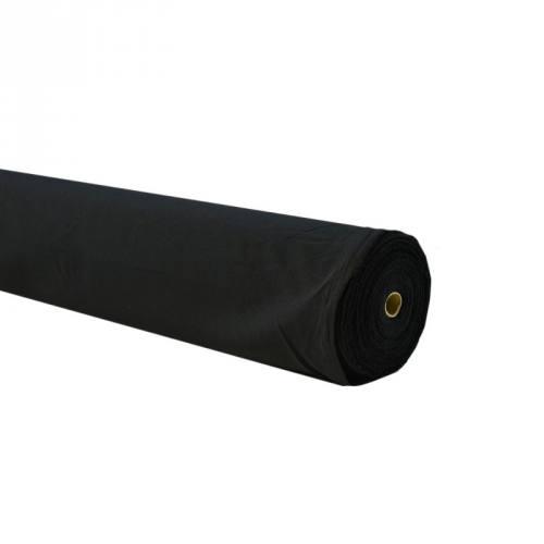 Rouleau 60m Burlington infroissable noir