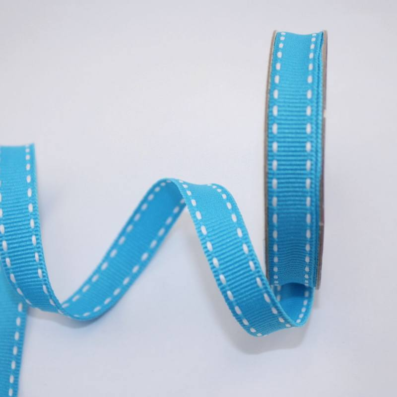 Ruban en bobine bleu azur 9 mm