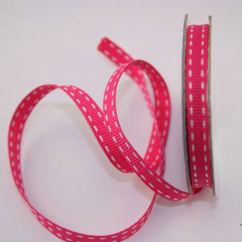 Ruban en bobine rose 6 mm