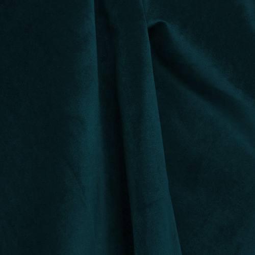 Velours d'ameublement bleu canard