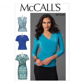 Patron Mc Call's M7243: Hauts et Robes Taille: 32-40