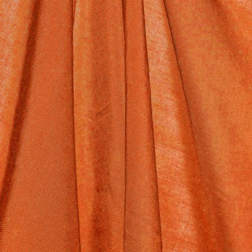 Viscose unie orange