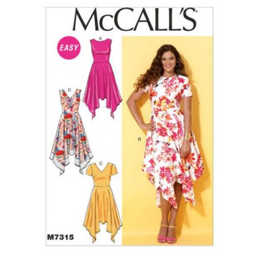 Patron Mc Call's M7315: Robe Taille: 42-50