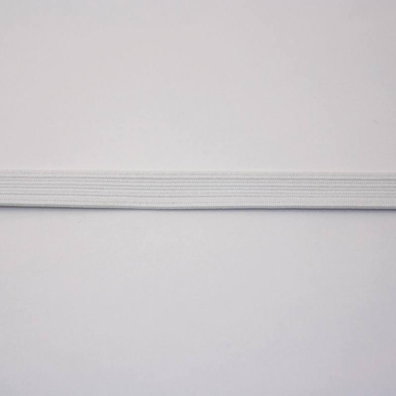 Elastique blanc 8,5 mm