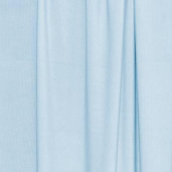 Maille extensible bleu pastel