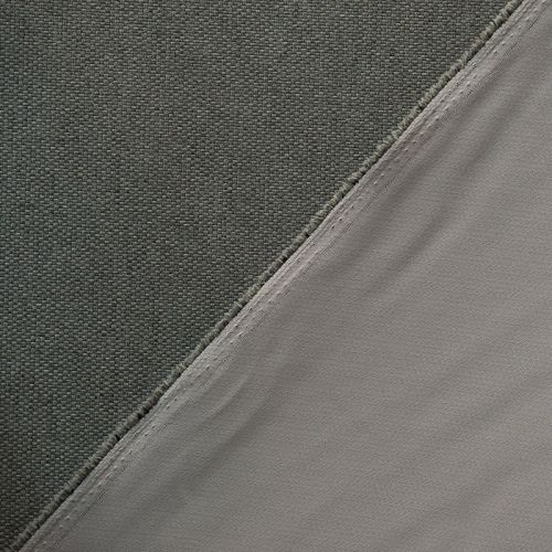 Tissu occultant réversible gris/taupe