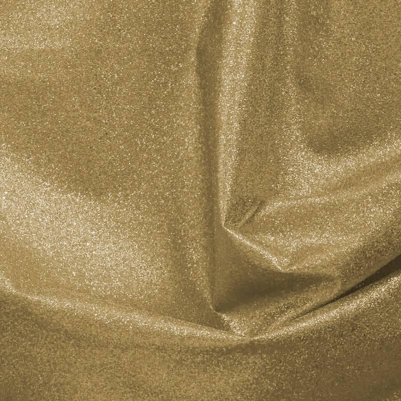 Simili cuir or brillant