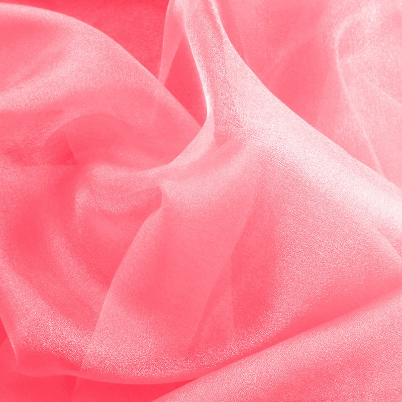 Organza rose bonbon