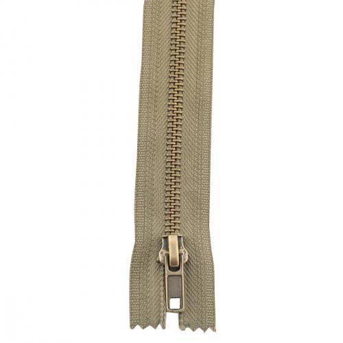Fermeture 20 cm métal non séparable Col 151