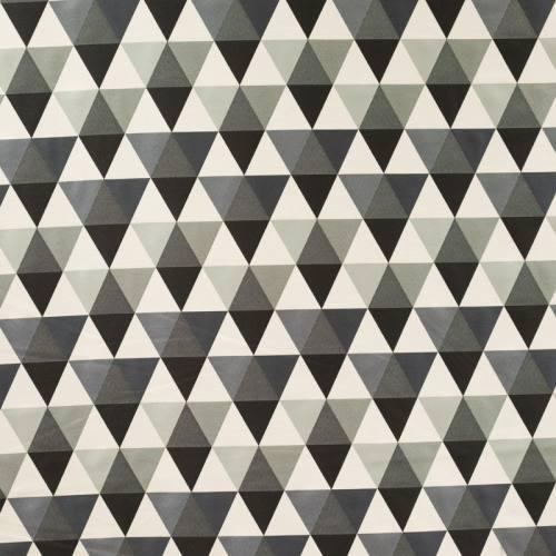 Jacquard triangles gris