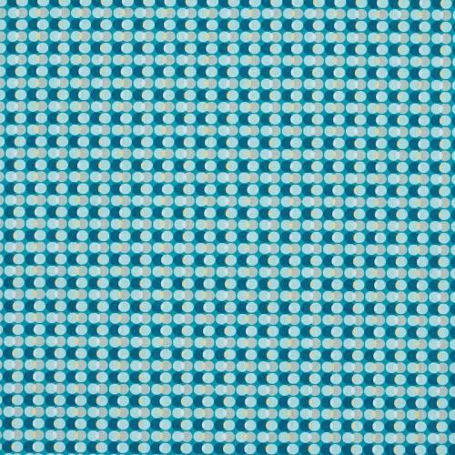 Coton bulle bleu