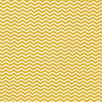 Coton chevron jaune